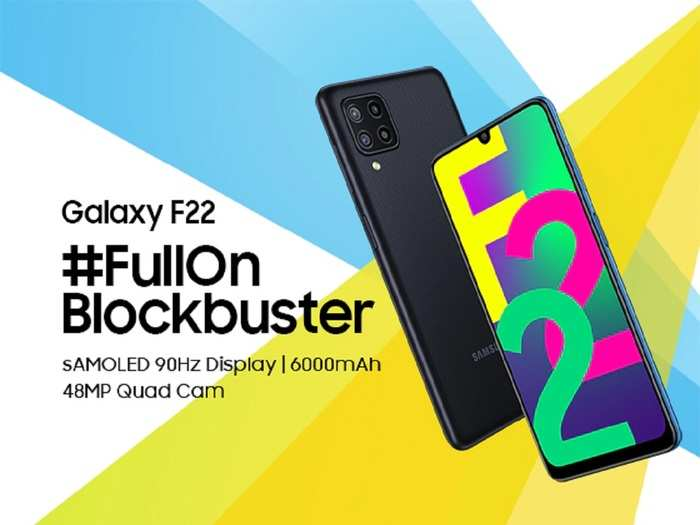 Samsung Galaxy F22 First Sale Flipkart India Price