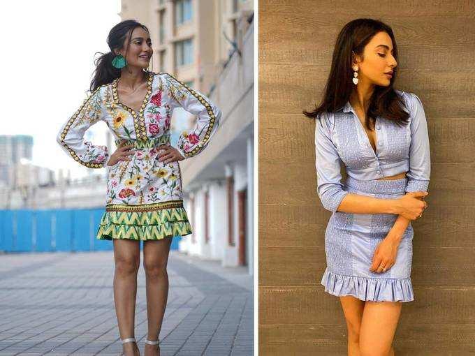 दो हसीनाओं के फैशन ने बढ़ाई गर्मी