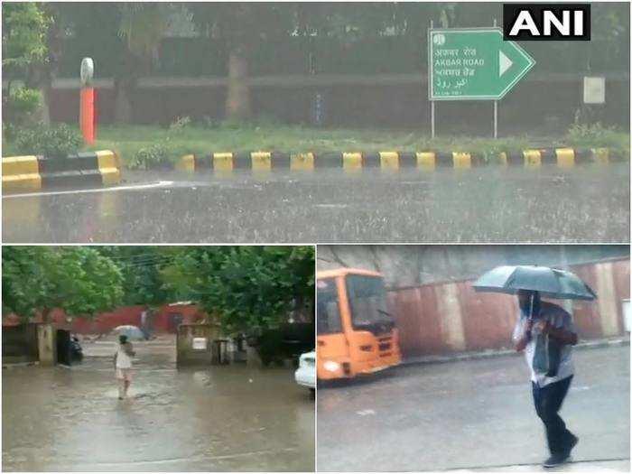 monsoon 2021 rain forecast in delhi ncr weather report aaj barish hogi says mausam vibhag