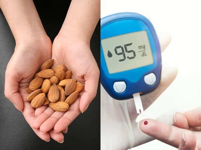 study reveals that almonds is good for diabetes and it regulate blood pressure levels