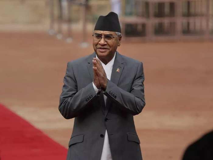 Sher Bahadur Deuba.
