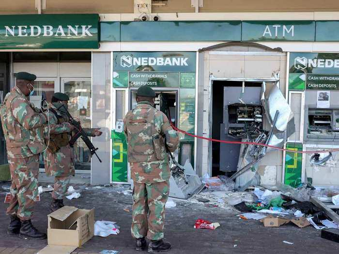 South Africa violence