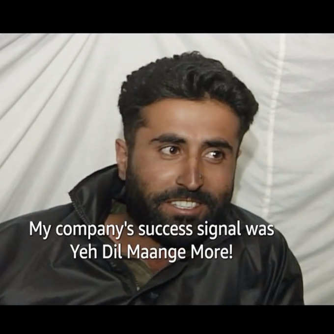 A glimpse of Vikram Batra in Shershaah's teaser