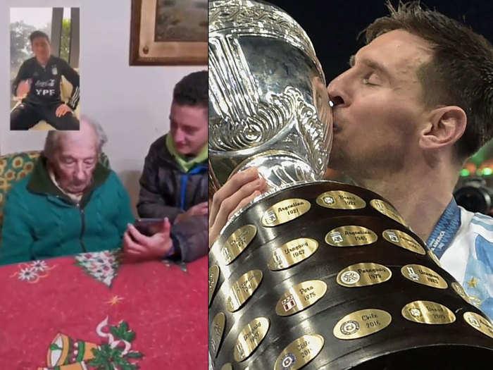 Messi Surprises Fan: लियोनेल मेसी ने किया सरप्राइज, 100 वर्षीय सुपरफैन की आंखों से छलके आंसू