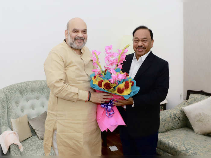 narayan rane minister for micro small and medium enterprises met union home minister amit shah
