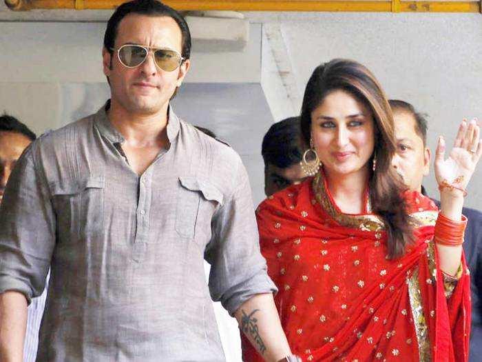 kareena kapoor khan and saif ali khan royal wedding and her stylish reception look