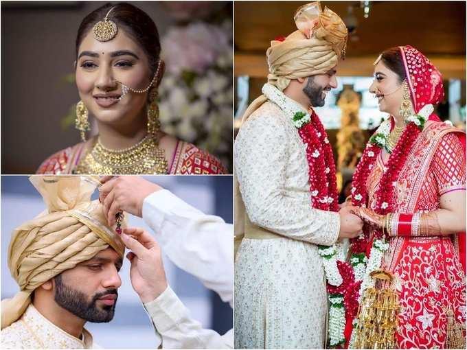 Wedding Photos: राहुल-दिशा के प्यार को मिली मंजिल