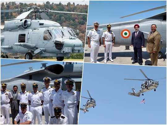 sikorsky mh-60r helicopter: indian navy Sikorsky MH-60R multi-role  helicopters latest news today