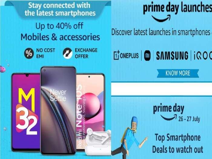 Amazon Prime Day sale best Smartphone deals All details