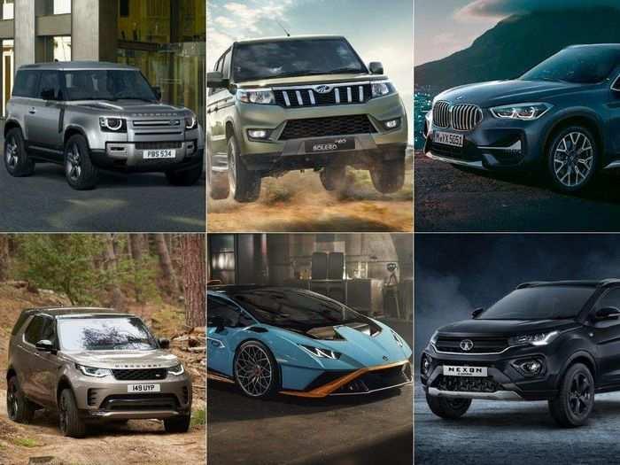 mahindra bolero neo bmw x1 20i tech edition defender 90 suv huracan sto tata motors dark edition 6 cars launched in india july 2021