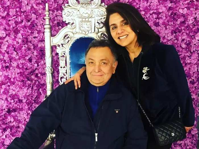 when rishi kapoor confess that she is looking too sexy in front of wife neetu kapoor and why husband cheat after marriage
