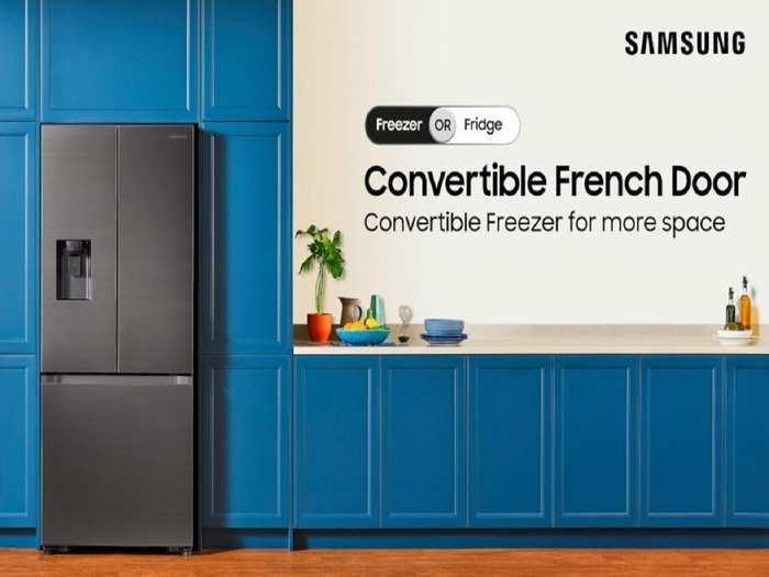 Samsung 3 Door Convertible Refrigerator Launch Price