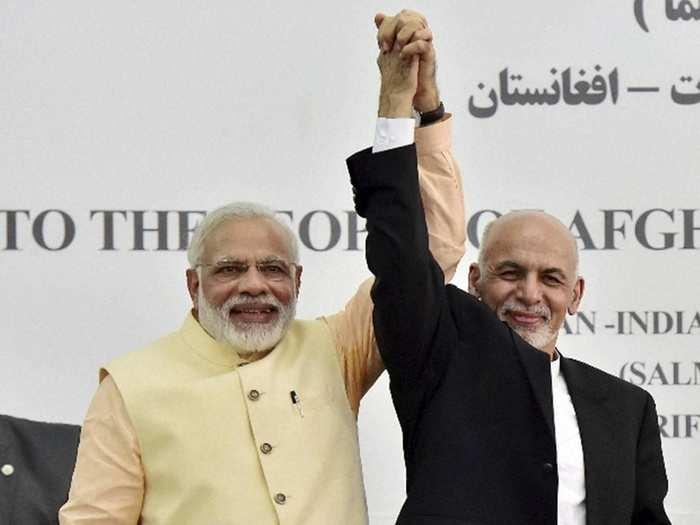 Modi Ashraf Ghani 09911