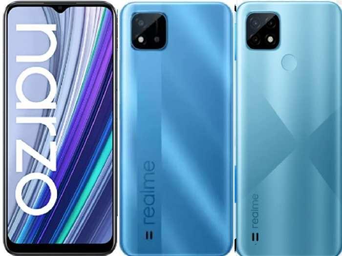 Realme Best Mobiles Under Rs 10000 On Amazon Flipkart