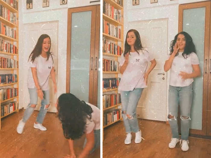 Dia Mirza twins with stepdaughter