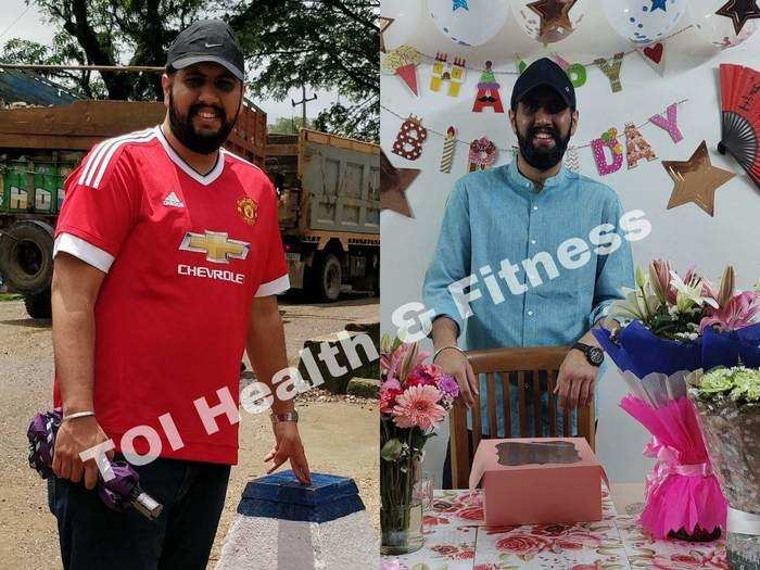 28 year man amazing weight loss transformation in few days with these diet tips
