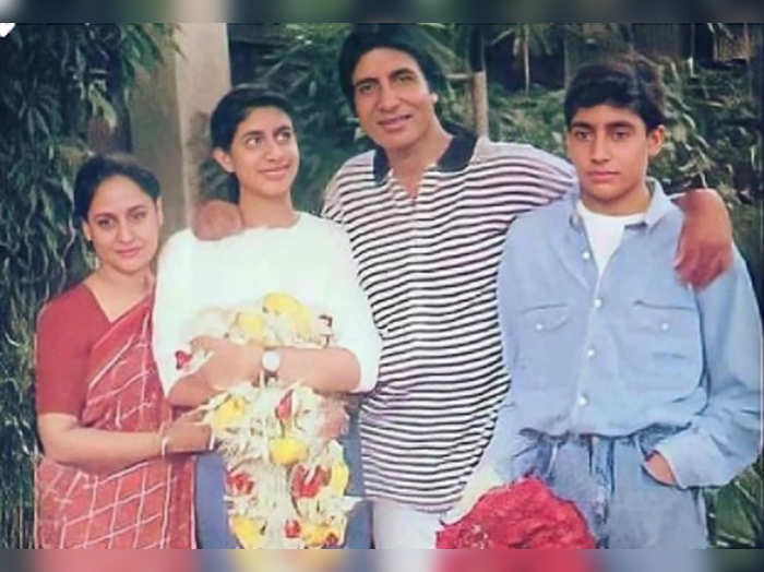 Amitabh throwback family picture goes viral