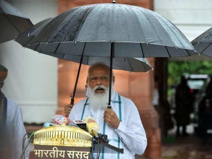 pm modi ahead of monsoon session
