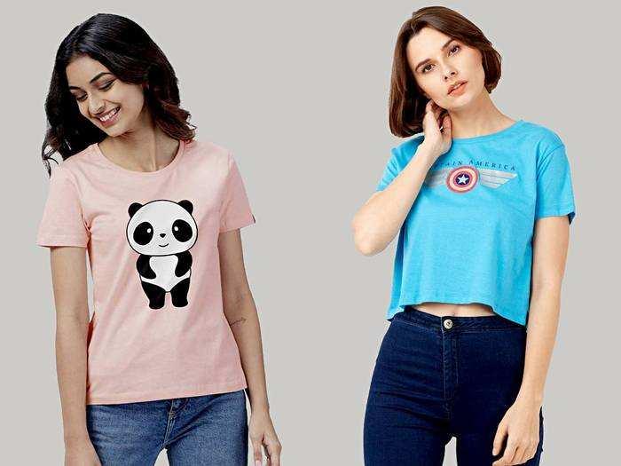 Womens Fashion : स्मार्ट और फैंसी लुक के लिए ट्राय करें ये टी शर्ट्स, मिलेगा ट्रेंडी टच