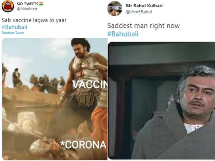 after pm modi says those who take shot in baahu become baahubali netizens respond hilariously memes jokes chutkule goes viral