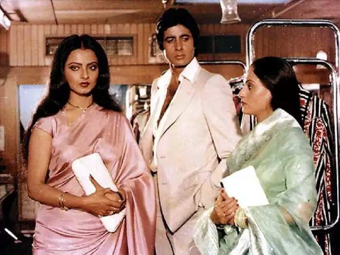actress rekha said few line for jaya bachchan and talk about relationship with amitabh bachchan