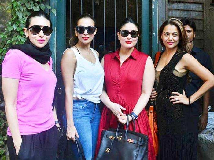 kareena kapoor khan looks super hot in red maxi dress for manish malhotra house party