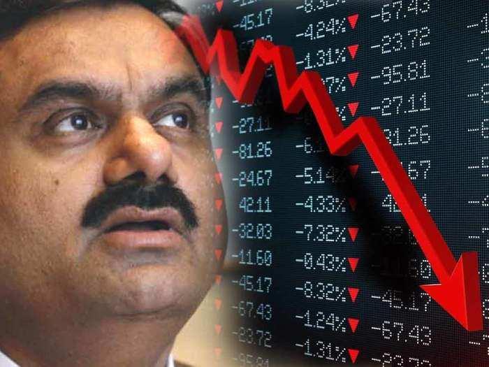 gautam adani 4 companies share fall sharply after news of sebi and dri investigation against adani group companies