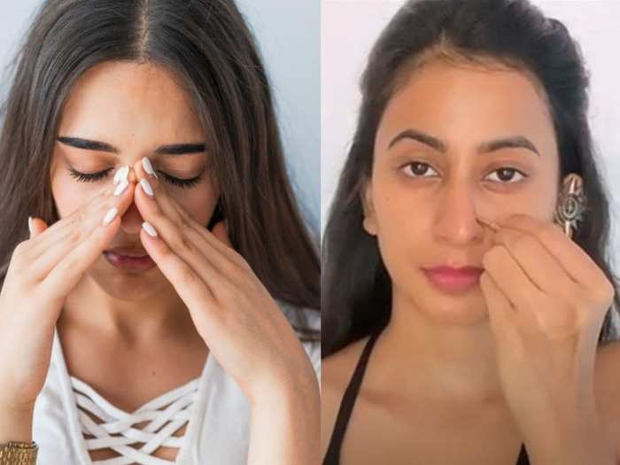 10 minute face yoga to help sinuses and reduce tension