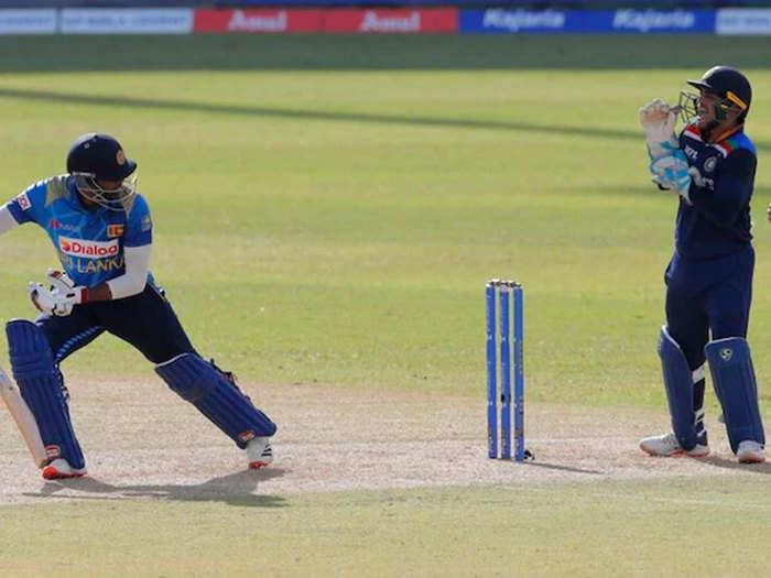 Ishan Kishan Smart Ran Out: बोल के रन आउट किया... ईशान किशन ने यूं श्रीलंकाई बल्लेबाज को किया चलता