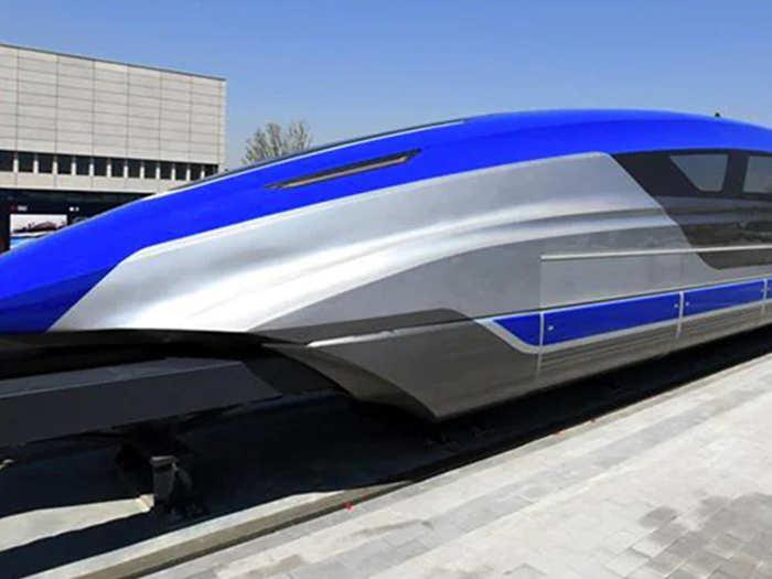 चीन ने शुरू की ट्रेन