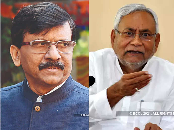 dont take notice of leaders like sanjay raut says bihar chief minister nitish kumar