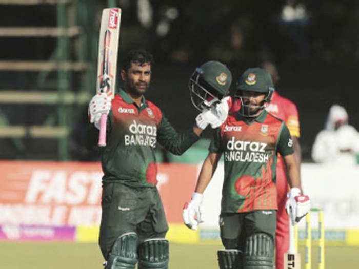 ZIM vs BAN: तमीम की शतकीय पारी, बांग्लादेश ने वनडे सीरीज में जिम्बाब्वे का सूपड़ा साफ किया