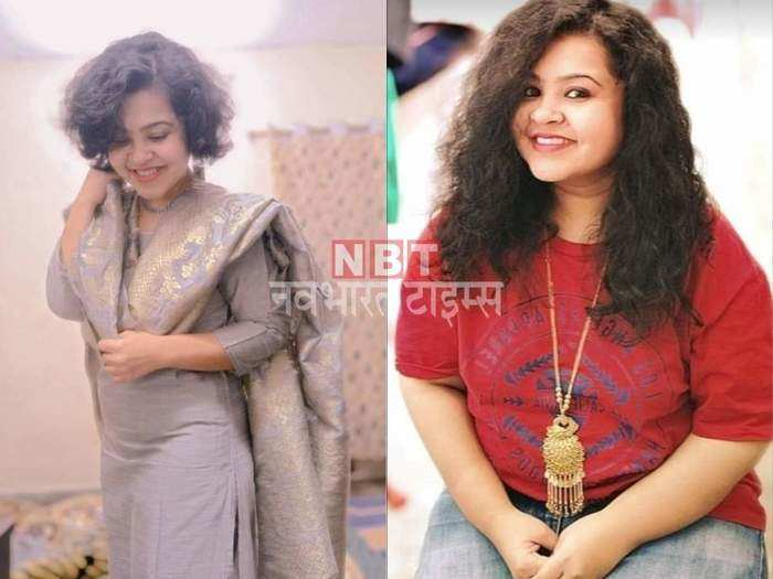 without any diet or dietitian this girl lost 34 kg, know her inspirational weight loss story