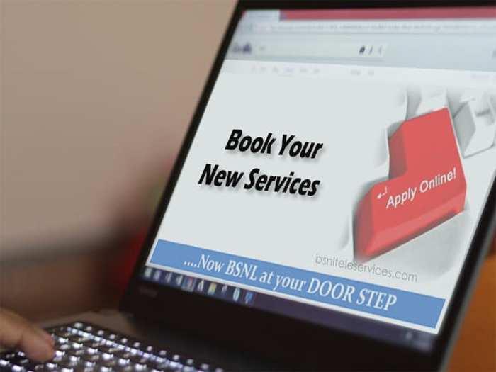 BSNL On Your Door Step Service For New Landline Broadband