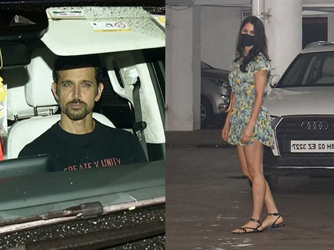 रितिक-फरहान के साथ पार्टी के लिए कटरीना ने चुनी छोटी सी ड्रेस, लुक देख तस्वीरों पर टिकी रह जाएंगी नजरें