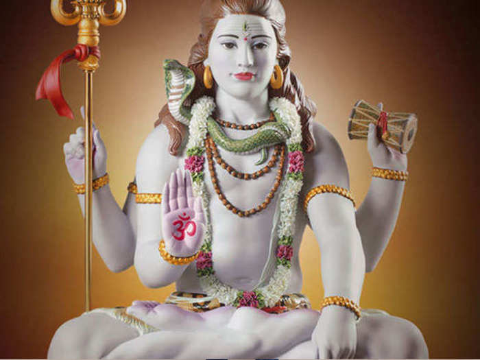 what is the meaning of seeing lord shiva in dream in marathi