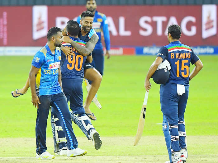 भारताचा श्रीलंकेवर विजय