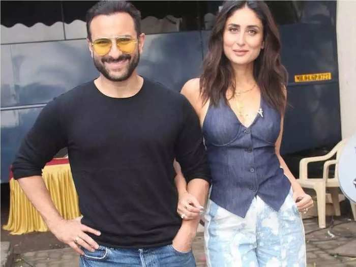 saif ali khan asked kareena kapoor mother babita kapoor for live in relationship and both are living together before marriage