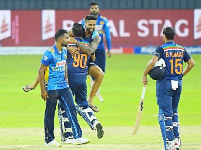 Team India vs Sl in 2nd odi