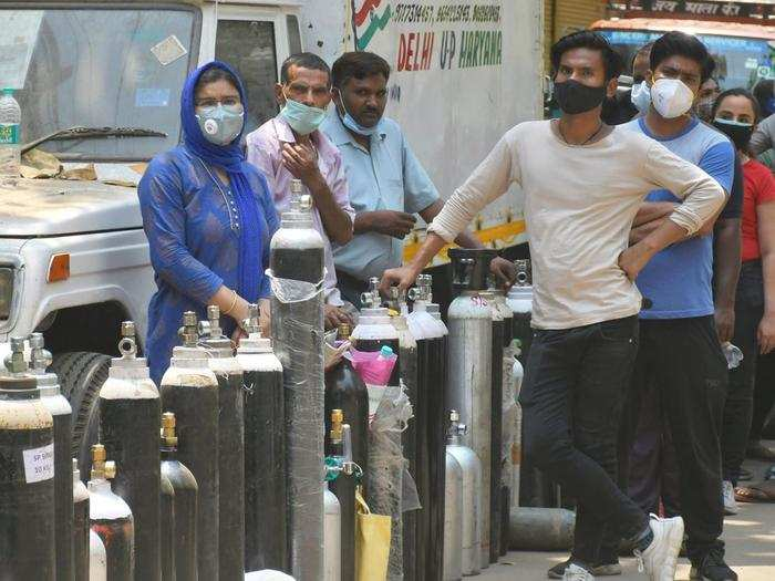 Oxygen cylinders Delhi.