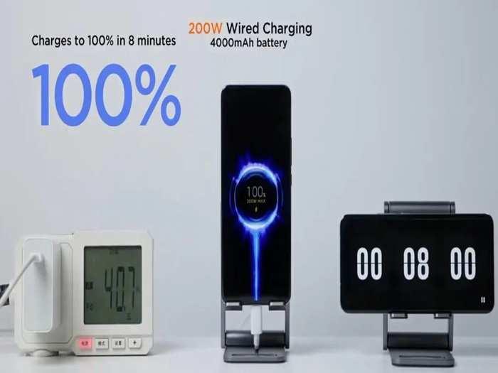 Xiaomi 200W Fast Charging Mass Production