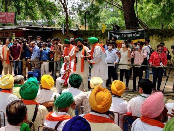 kisan sansad at jantar mantar live updates rakesh tikait to lead farmers and watch parliament proceedings