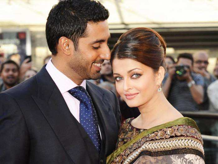 aishwarya rai bachchan in red sabyasachi numbers pictures from the ambani party spark pregnancy rumours