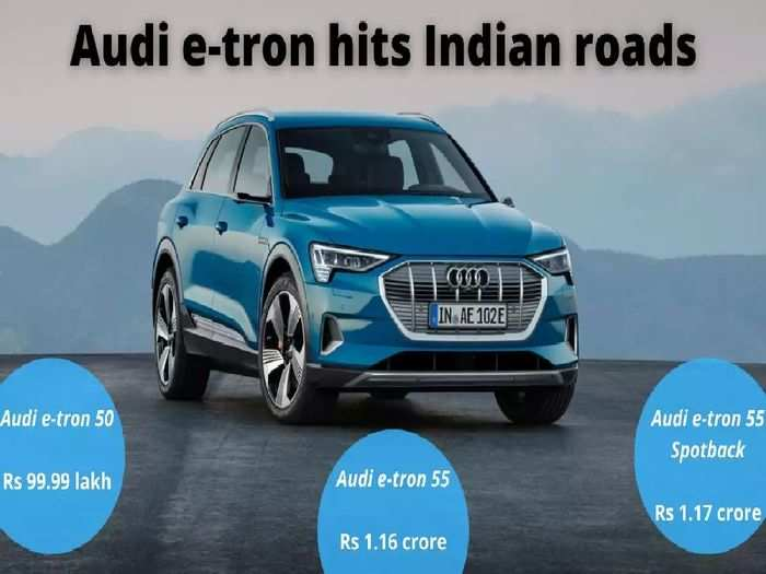 audi e-tron launched in india price starts at rs 99.99 lakh