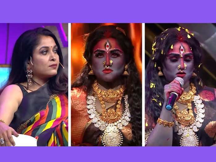 ramya krishnan ನಟಿ ರಮ್ಯಾ ಕೃಷ್ಣರ ಅದೊಂದು ಮಾತಿಗೆ ಕೆಂಡವಾದ ಬಿಗ್ ಬಾಸ್ ಸ್ಪರ್ಧಿ; ಸೋಶಿಯಲ್ ಮೀಡಿಯಾದಲ್ಲಿ ಸದ್ದೋ ಸದ್ದು