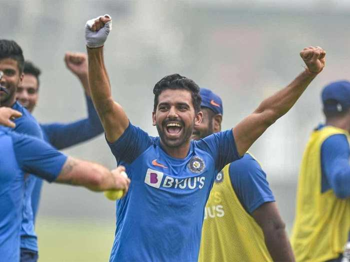Deepak Chahar Team India in ODI