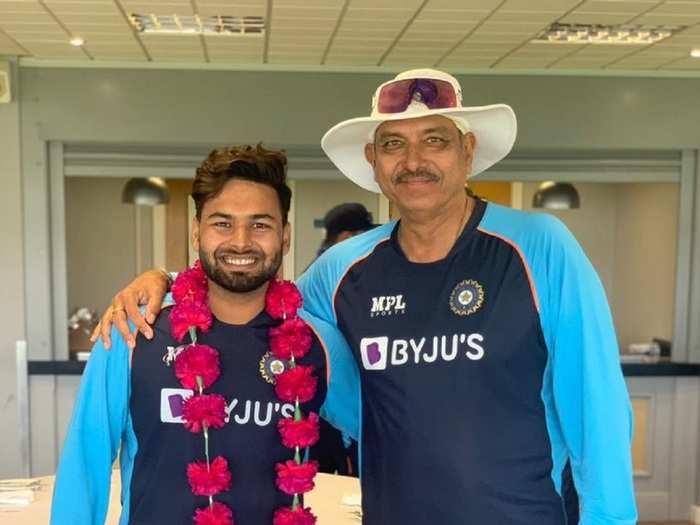 Rishabh Pant in Team India