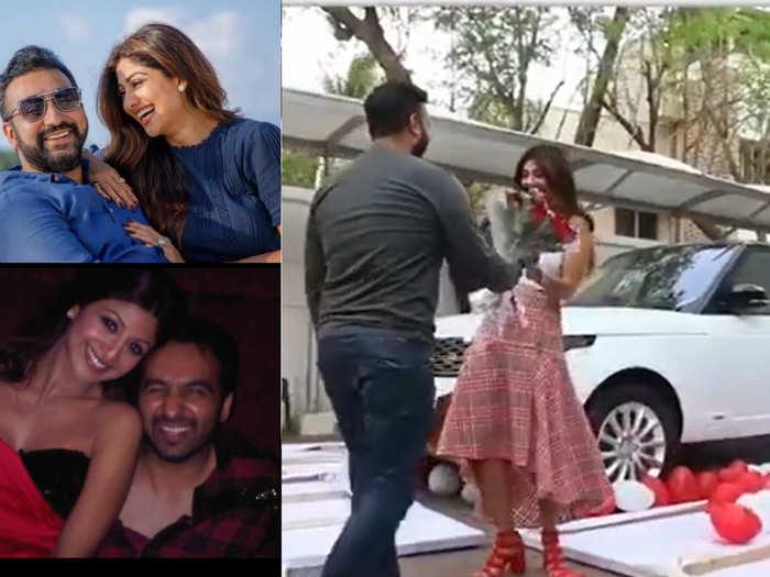 when Raj kundra gifted expensive car Range rover Vogue to shilpa shetty