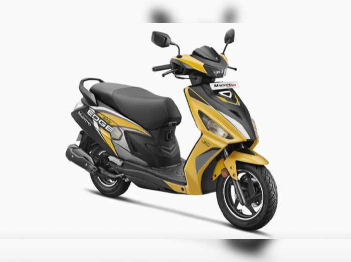 hero maestro edge 125 launched with bluetooth connectivity