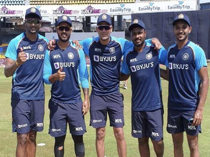 team india debut